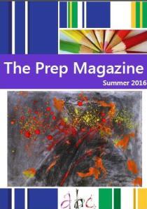 Prep magazine cover