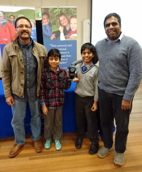 Family quiz runners-up