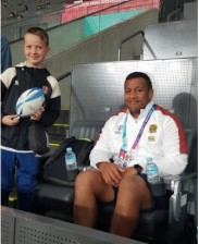 Me and Mako Vunipola