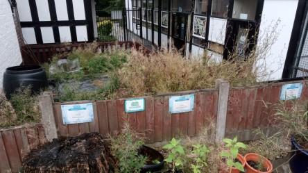 Prep lockdown garden