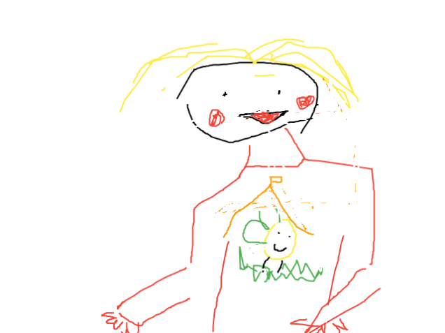 Honorah Worrall self portrait