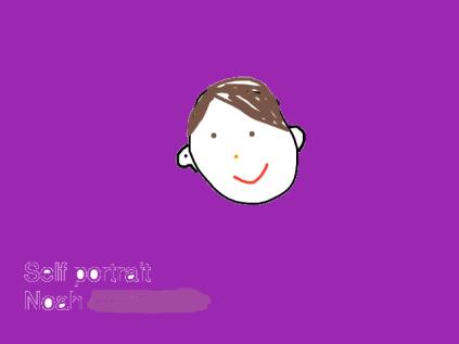 Noah C Self portrait